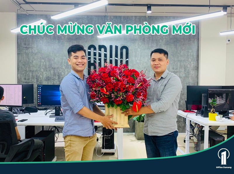 OFFICE DANANG CHÚC MỪNG KHAI TRƯƠNG VĂN PHÒNG MỚI CÔNG TY ANVO
