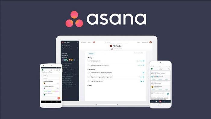 phần mềm quản lý công việc miễn phí Asana